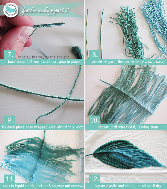 feather making 2